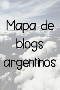 Mapa de blogs argentinos