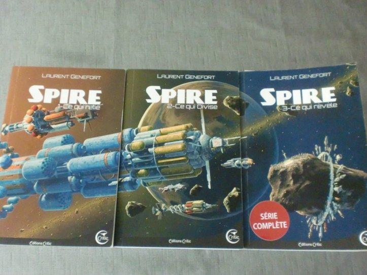 Spire Trilogy, Laurent Génefort